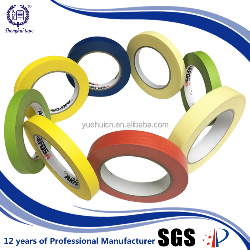Alibaba hot sale 18mm x 20y used for painting rice paper masking tape