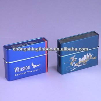 High quality tin cigarette boxes packaging box