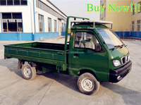 mini electric cargo delivery truck with 2 seats