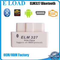 OBD2 OBDII Adapter Auto Scanner Super Mini bluetooth elm327 1.5a software