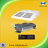 Split design refrigeration unit for cargo van