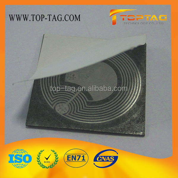 ISO15693 I-CODE SLI Anti Metal RFID NFC Tag / Lable / Sticker with Coated Paper, PVC or Epoxy material