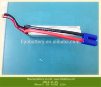 hottest universal rechargeable 7.4v rc helicopter battery with 1200mah