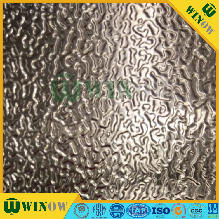 Winow high-precision for refrigerator low price stucco embossed aluminum sheet