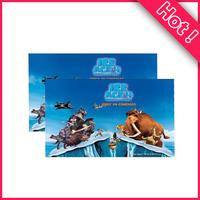 Customized 3D lenticular card & 3D postcard