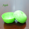Red and green plastic airtight box for fruit keep apples