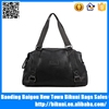 Top sale shoulder tote bag business carry on holdall duffel bag leather travel bag