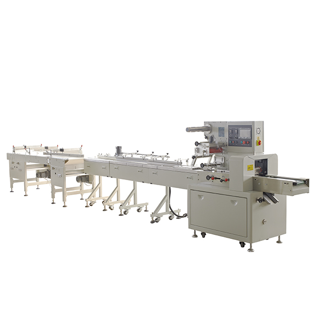 Full automatic feeder lollipop candy packing line machine