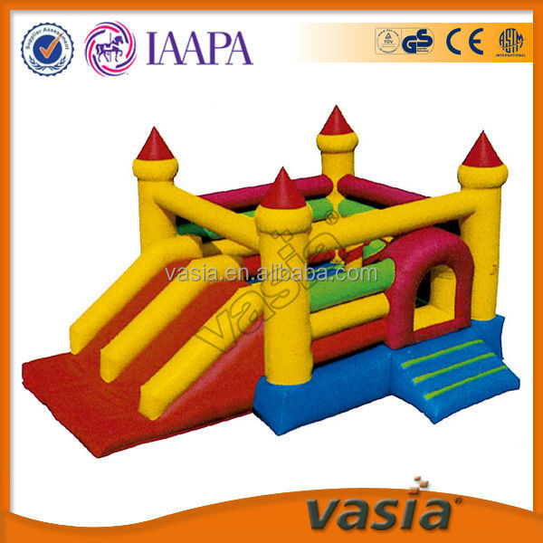 Professional quality control giant inflatable children playground