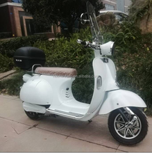 NEW E4 EEC retro classic electric scooter with 2 pcs portable lithium battery
