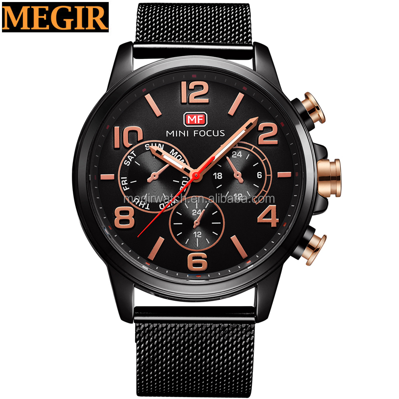 good quality all black very cheap wholesale china watches men 2017