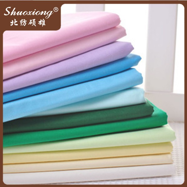 cheap woven cotton colored muslin fabric