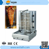 Turkey Chicken Toasting Shish Kebab Making Machine