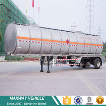 Good 36000 litres fuel tanker semi trailer