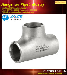 stainless steel pipe branch tee fitting