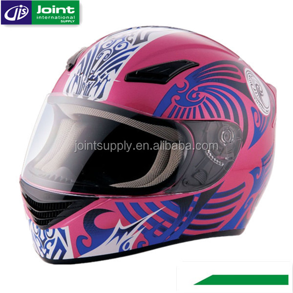 ECE Approved Chinese Custom Full Face Motorcycle Helmet