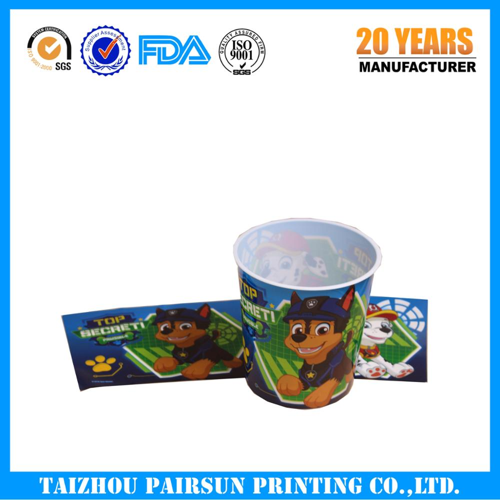 cheap price PP in mold label/IML