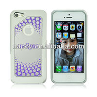 Napov - Dog & Bone Luxury Design Burst PC + Aluminum Colorful Mobile Phone for Cover iphone 5 China Supplier