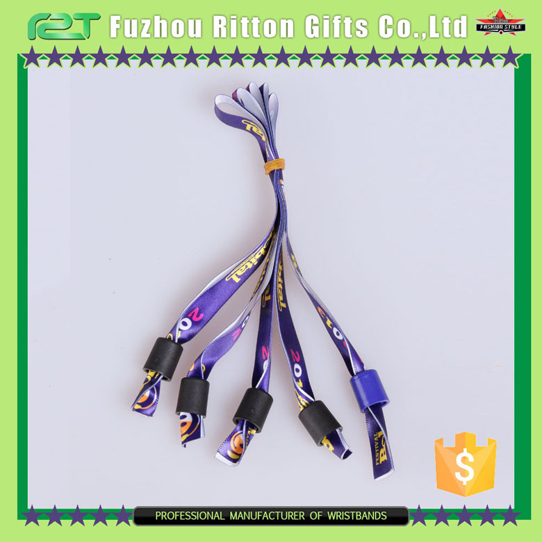 business and gifts use satin wristband