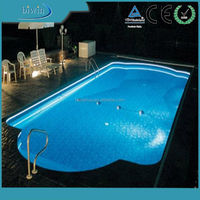 Swimming pool fiber optic lighting,led strip lighting