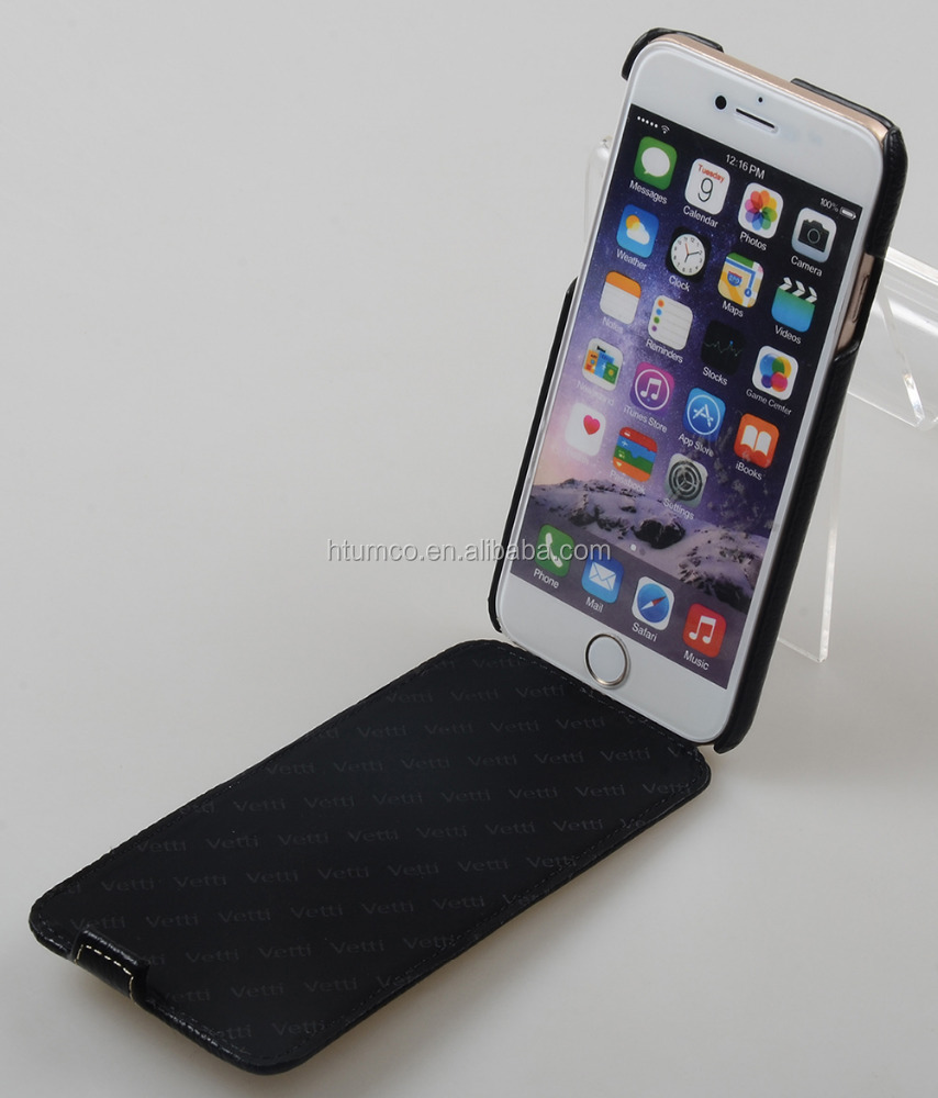 Vetti Craft Genuine Leather Case Slim Flip Dimand Series Phone Case for Apple iPhone 6