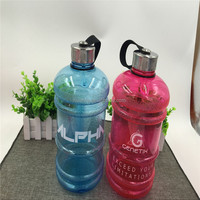 New products of 2016 100% Environmental protection material 2.2L large sports drink bottle water jug with one handle