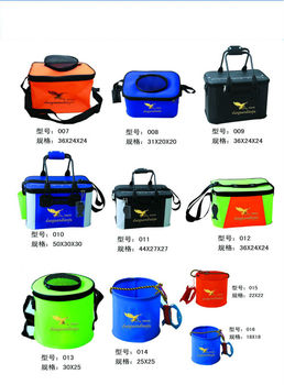 EVA/PVC fishing tank hot sale In bag folding water tank