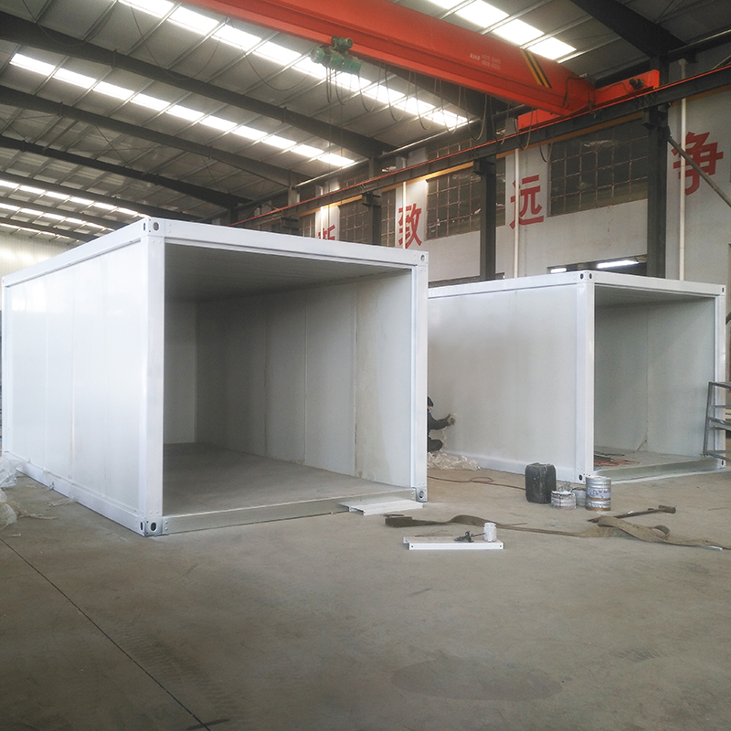 Mobile Portable Prefab House Container Homes for Truck Trailer Used