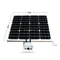 Outdoor strong anti thunder storm solar panel camera built-in 3g 4g sim card slot, SD card storage