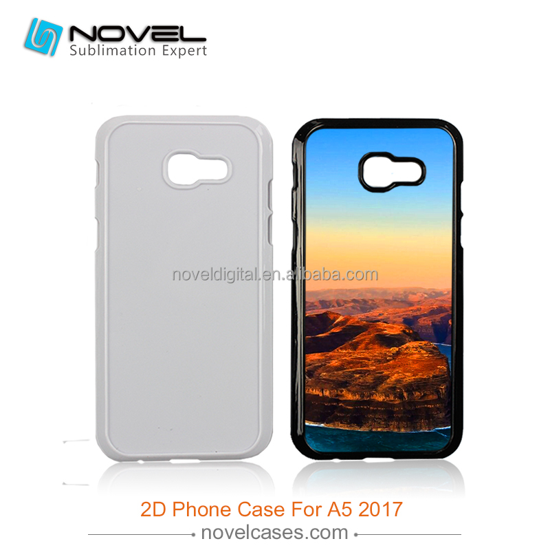 Newest sublimation cover for Samsung A5 2017,2d sublimation case