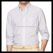 Formal long sleeve used flannel shirts for bussiness men