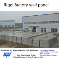 100mm thickness fireproof insulated panels for exterior wall