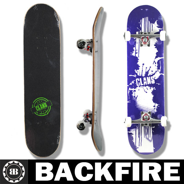 "Backfire 31.75 x 7.7"" abec7 bearings 98a wheels Professional Leading Manufacturer"