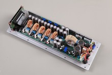3-way class D power plate amplifier module for speakers with DSP