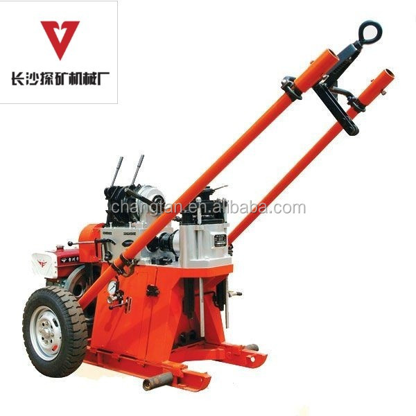 100m SPT Portable Getech Rotary Water Well Drilling Rigs For Sale