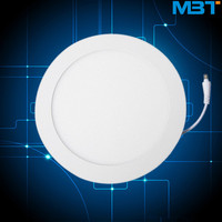 High luminance and long lifespan recessed led slim down light 12w round led panel lights with cheap price led panel light well