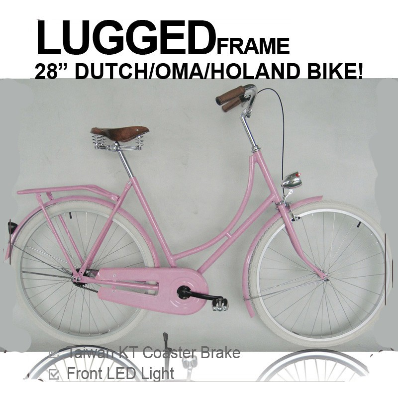 Customized old 28 inch Steel dutch Bicycle holland bike