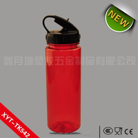 New design 600ml BPA free plastic water bottle for outdoor activities