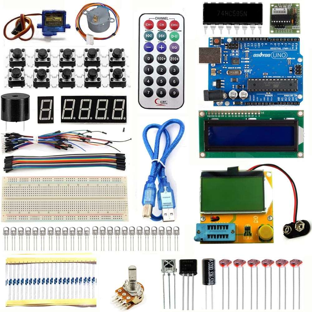 Wholesale Electronics New Projects Online Buy Best Electronic Circuit Starter Kit For Uno R3 Upgraded Version Learning Basic Suite Diy Strong Project