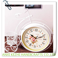 Double-sided Quiet Bicycle Table Quartz Clocks