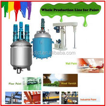 Alibaba best China supplier high grade paint pigment making equipment for sale