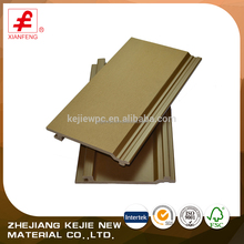 China Manufacturer Factory Price Exterior Building Material Wood Plastic Composite WPC Wall Cladding
