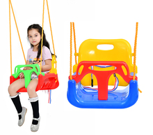 brand new style hot seliing child playground swing safe indoor plastic single swing set kids swing