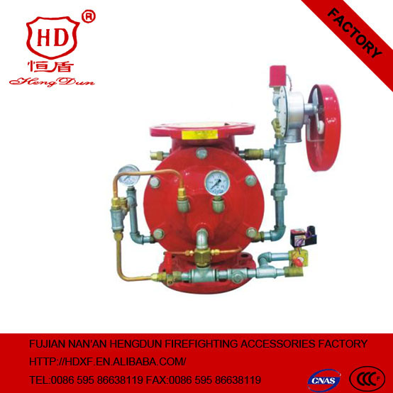 fire fighting wet fire water alarm valve