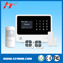 IOS/Andriod APP Control 8 Language Support Touch Screen Keypad WIFI & GSM & GPRS Burglar Alarm System