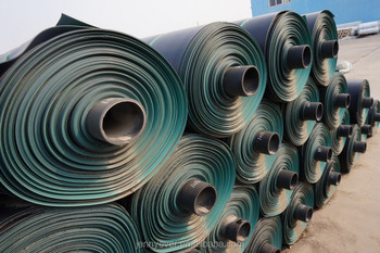 Green / black HDPE / LLDPE linder smooth or textured