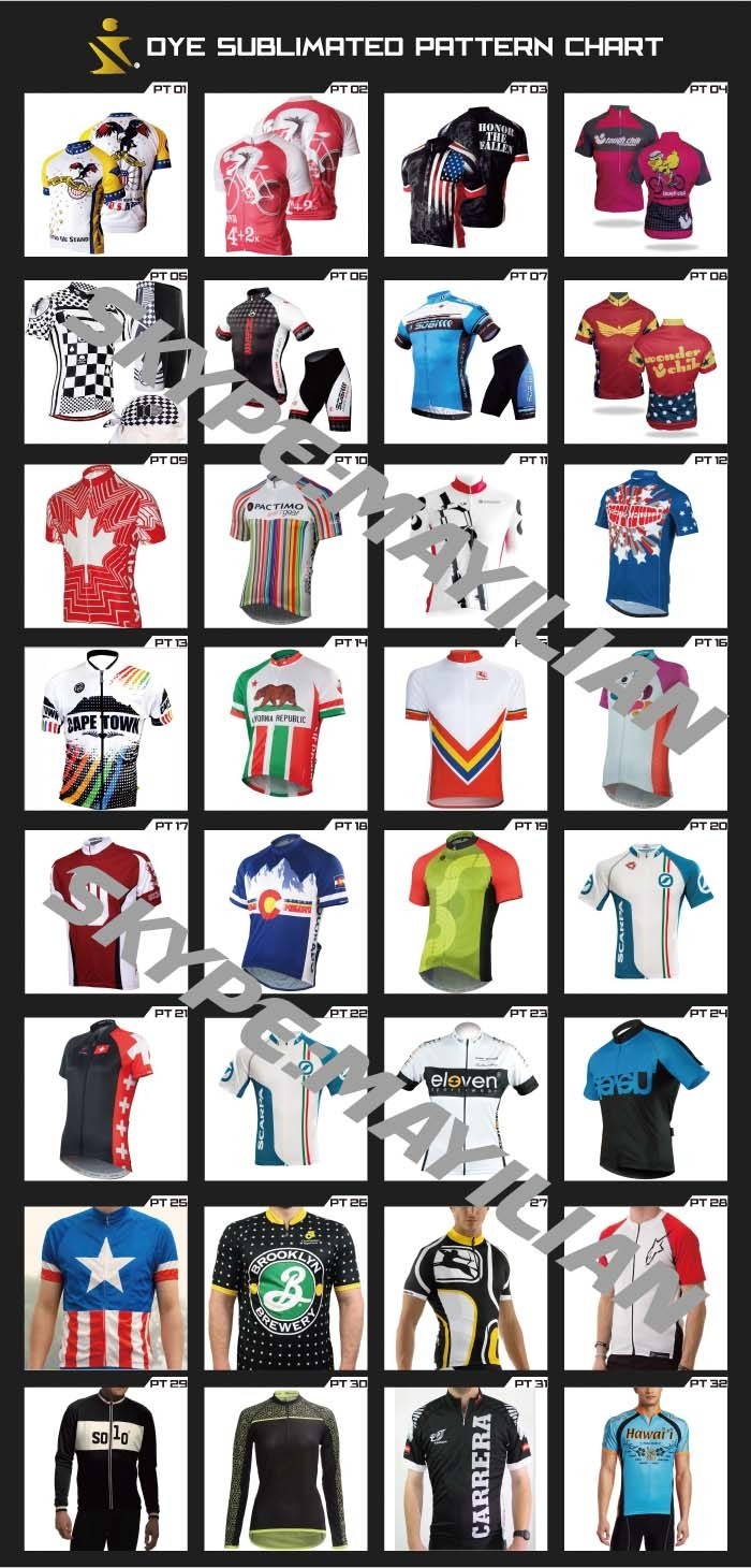 Custom Cycling Shirt 2016 Langarm Radtrikot Designs Fahrradtrikot