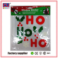 High quality waterproof adhesive alphabet gel stickers for windows