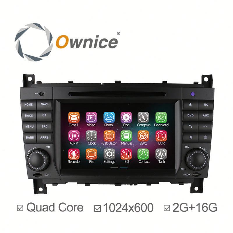 Factory OEM Quad Core Android 4.4 & Android 5.1 Cortex A9 Car dvd for Mercedes Benz W209 Support OBD 3G TV