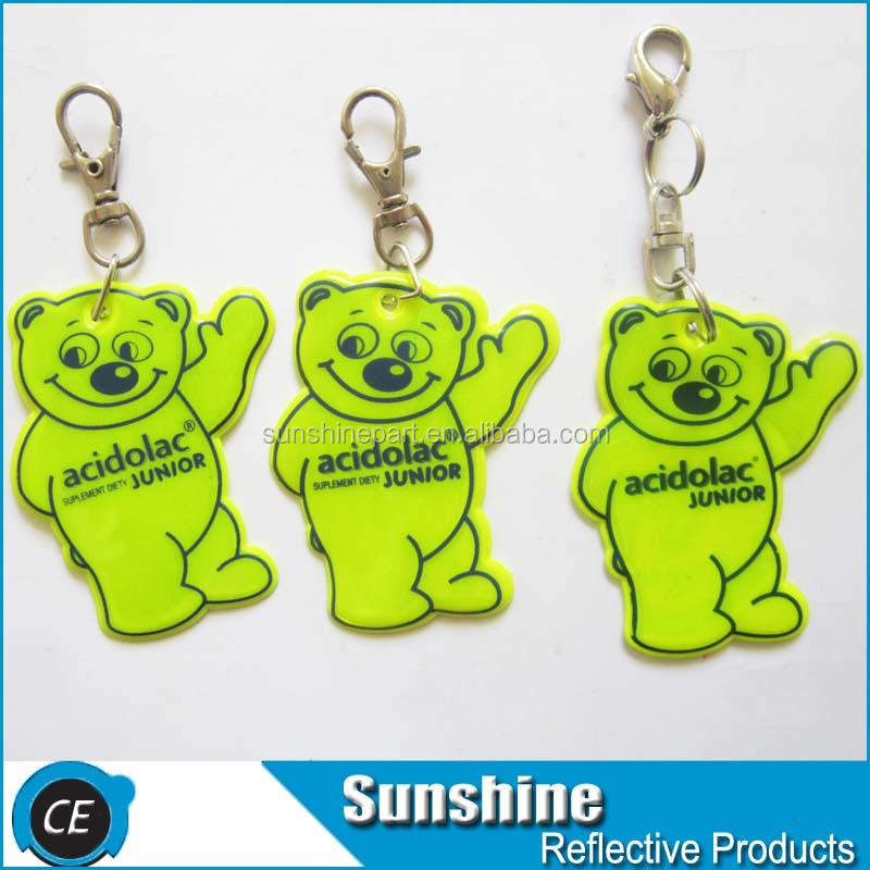 branded keychains souvenir reflect